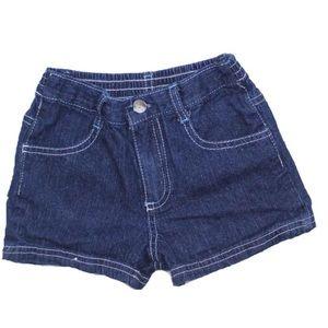 Girls Denim Shorts, Size 6X